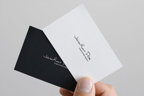 Minimal and Clean Name Card Design