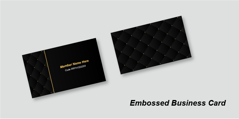 Buy Gold Foil Business Card