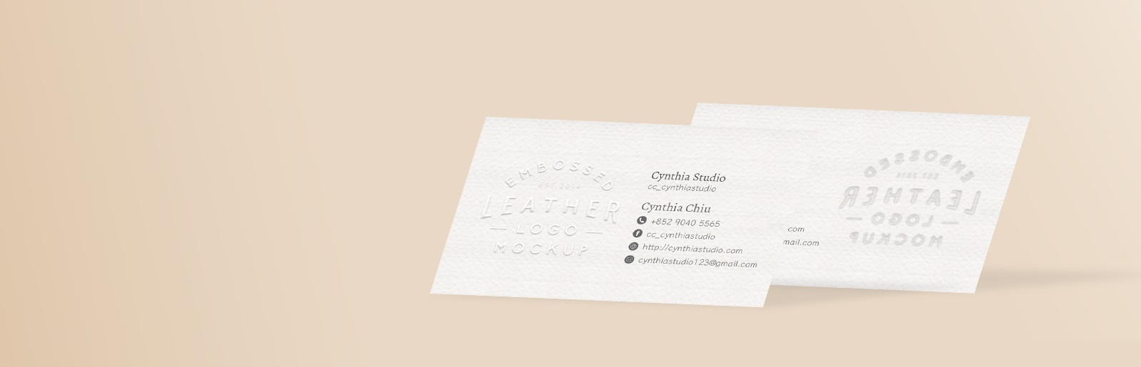 Embossed Business Card Printing In