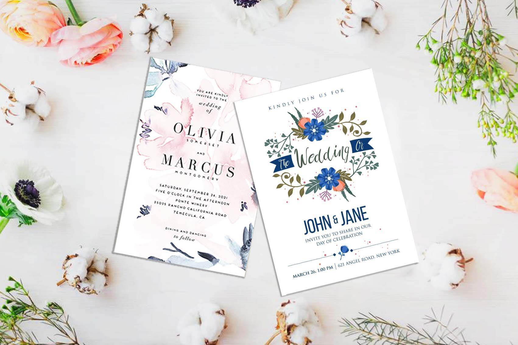 Wedding Invitation Card Printing & Design in Singapore - JoinPrint SG